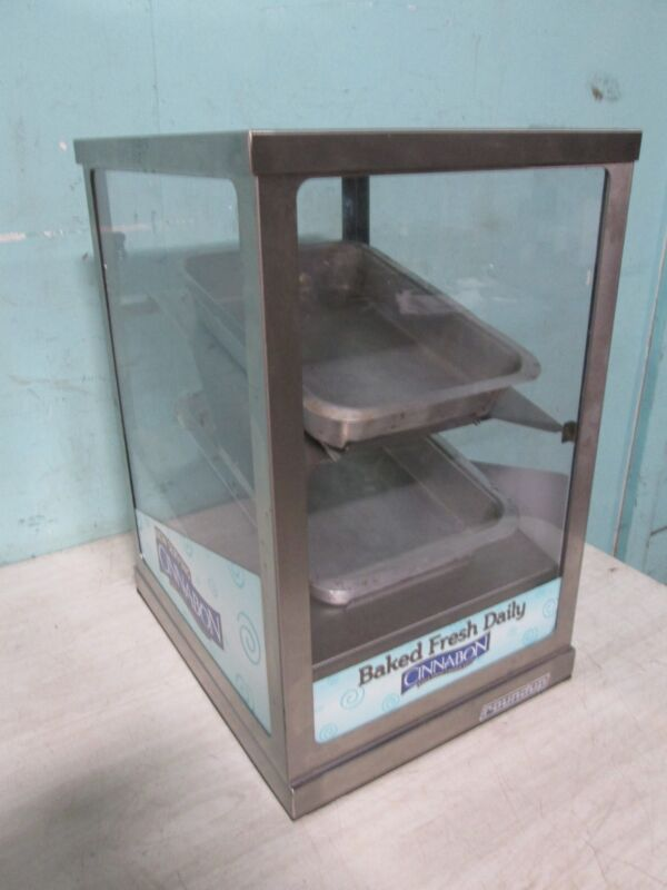 """ROUND-UP"" H.D. COMMERCIAL LIGHTED BAKERY COUNTER-TOP MERCHANDISER/DISPLAY CASE"