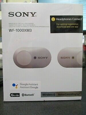 Sony WF-1000XM3 True Wireless Noise-Canceling In-Ear Silver Sealed Brand New