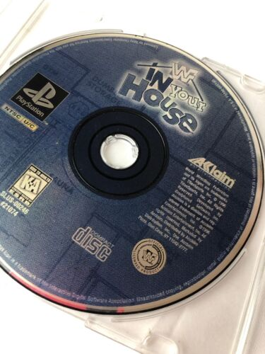 Used Play Station WWF In Your House Game Disk Only - $8.99