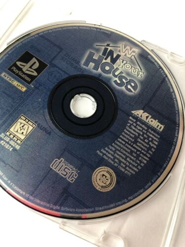 Used Play Station WWF In Your House Game Disk Only - $4.99