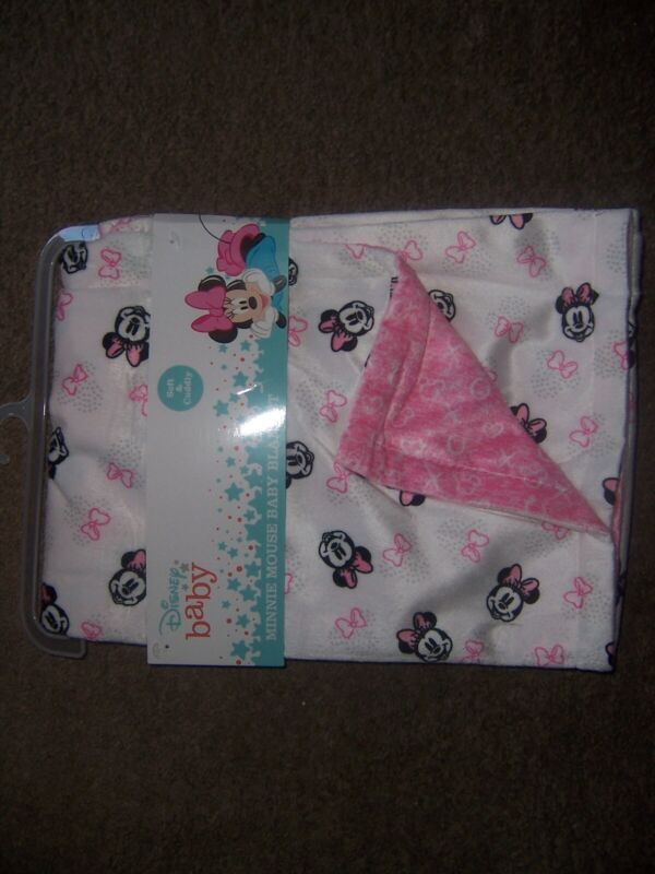 disney Baby minnie mouse soft cuddly blanket new  New