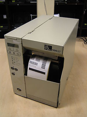 Zebra 105SL Direct Thermal Transfer Barcode Label POS Serial Parallel PAPER OUT