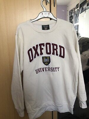 oxford university crew neck jumper size small, retro , vintage looking