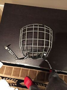 Bauer hockey cage