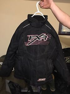 Woman's FXR size 8 coat with matching pants size 10