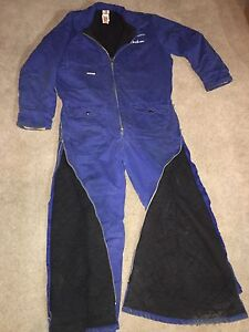 Proban/FR insulated coveralls.