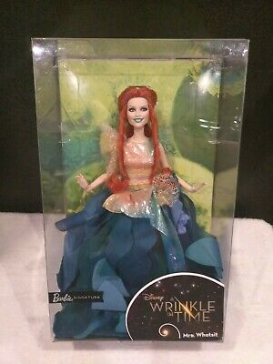 Disney A Wrinkle In Time Mrs. Whatsit Reese Witherspoon BarbieSignature Doll