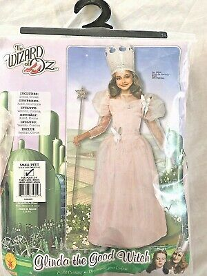 Glinda The Good Witch Costume For Girls (Wizard of Oz Glinda The Good Witch Girls Costume Small 4-10 with)