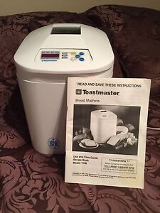 Toastmaster bread machine in Great Condition