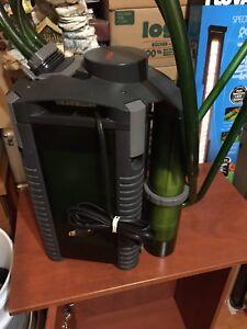 Wet dry filter pour eau salée