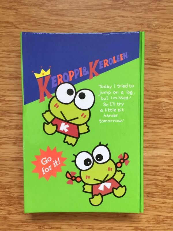 Keroppi Keroleen Address Book Planner Sanrio Vintage 1990s