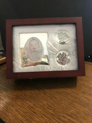 Stephen Baby Keepsake Gift Set: Frame,First Curl,First Tooth