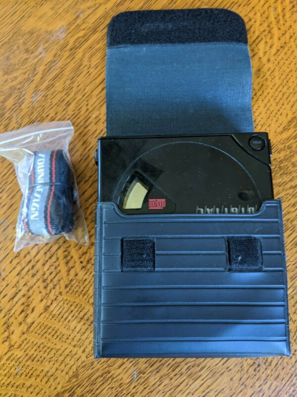 Vintage 1989 Soundesign Portable CD Player 4928BLK Tested Works Very Clean RARE