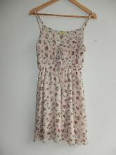 Avocado Gorgeous Rose Pattern Flowy Dress Size 10 – fits S 6-10 Kelvin Grove Brisbane North West Preview