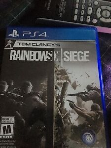 Rainbow six siege for ps4