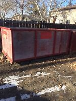 Bins and junk removal