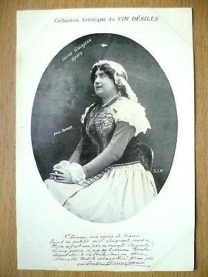Postcards of Edwardian Theatre & Opera Stars- LOUISE GRANJEAN OPERA, Vin Desiles