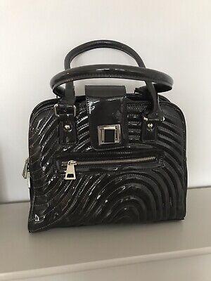 Jasper Conran Grey Patent Tote Bag