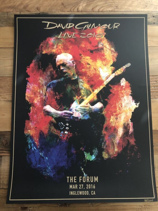 Doug Gilmour - Live At The Los Angeles LA Forum - May 27, 2016 - Poster