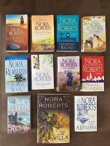 Nora Roberts 11 book collection for sale...