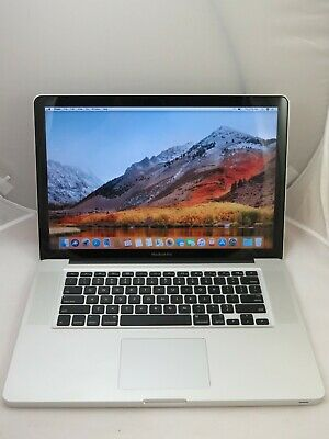 "APPLE MACBOOK PRO 15"" MC723LL/A I7 2.2GHZ 8GB 750GB DVDRW + WARRANTY + FREE SHIP"