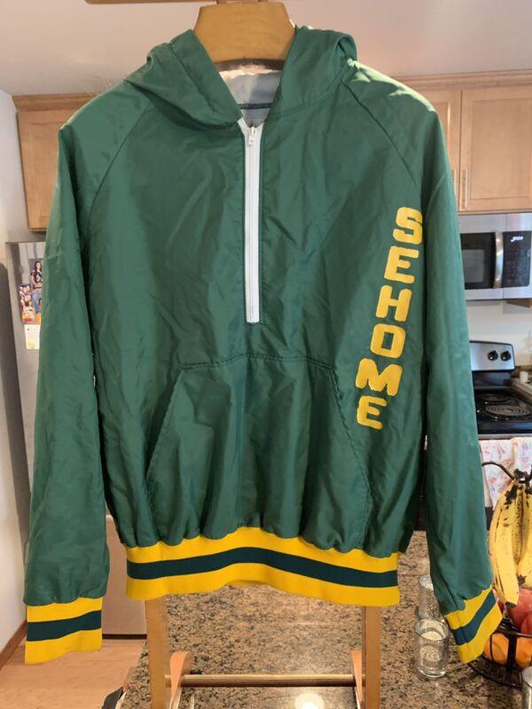 Vintage Sehome High School Hooded Jacket