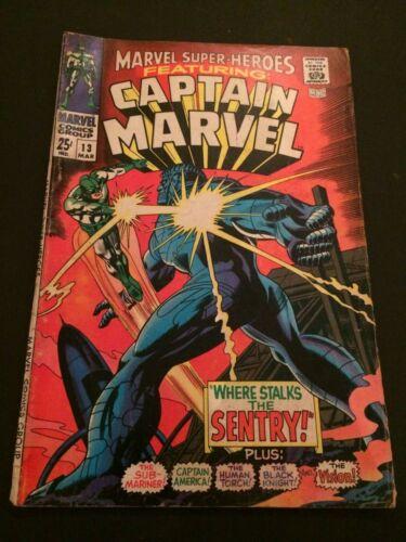 Marvel Superheroes 13 1st appearance of Carol Danvers Ms Marvel VG 4.0