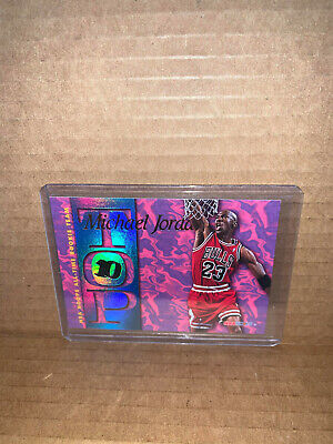 1995 NBA Hooper Michael Jordan Insert Top 10 All Time Rookie Team Card #AR7