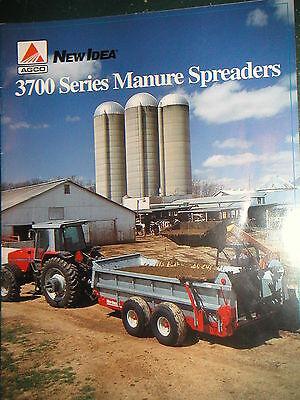 New Idea 3700 Series Pto Driven Manure Spreaders Lineup Pretty Color Brochure