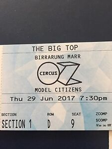 5 CIRCUS OZ MODEL CITIZENS Tickets Kew Boroondara Area Preview