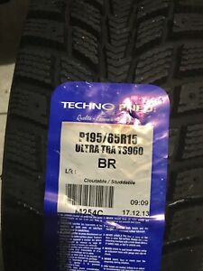 P 195/65/R15 NEW Snow Tires - 4 available