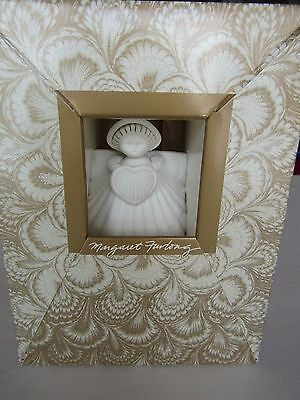 "Margaret Furlong NIB 4"" Angel with Heart Sea Shell Angel 1988 Christmas Ornament"