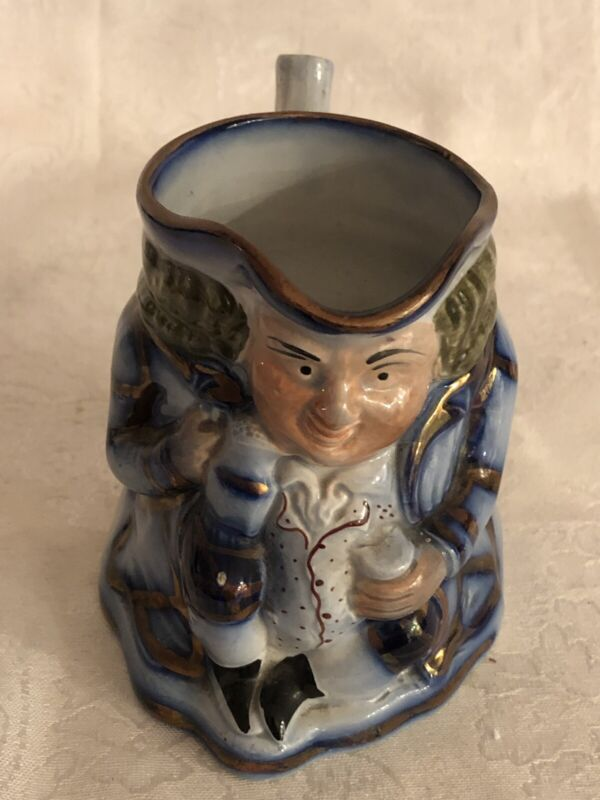 GREAT PRICE!! DYNAMIC FLOW BLUE TOBY MUG BEAUTIFUL DESIGN AND COLORING **MINT**