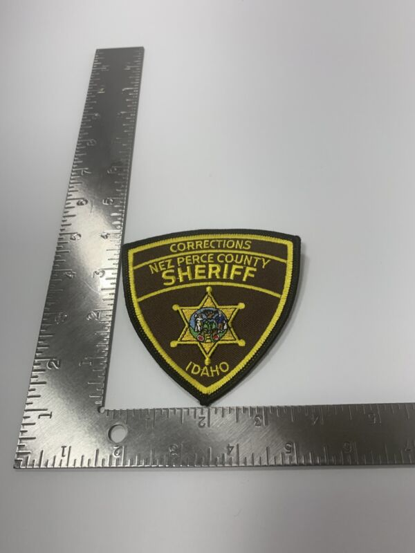 CORRECTIONS NEZ PERCE COUNTY IDAHO ID SHERIFF POLICE PATCH