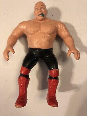 """GEORGE THE ANIMAL STEELE - WWF SUPERSTARS - VINTAGE 1986 LJN 8"""" ACTION FIGURE"""