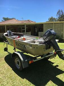Tinny 15hp Yamaha all registered Newcastle Newcastle Area Preview