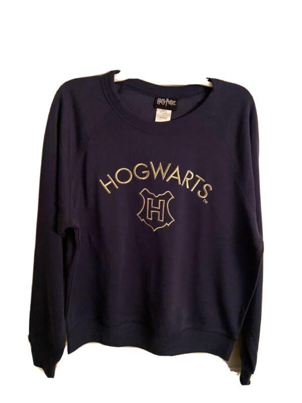 Harry Potter Hogwarts Blue Sweatshirt For Juniors Size Small