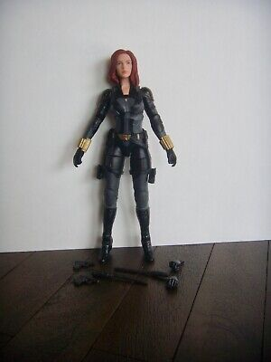 "MARVEL LEGENDS SERIES~BLACK WIDOW 6"" FIGURE~LOOSE~VHTF"