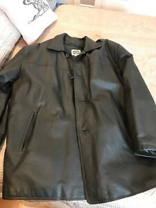 Mens Lined Leather Jacket