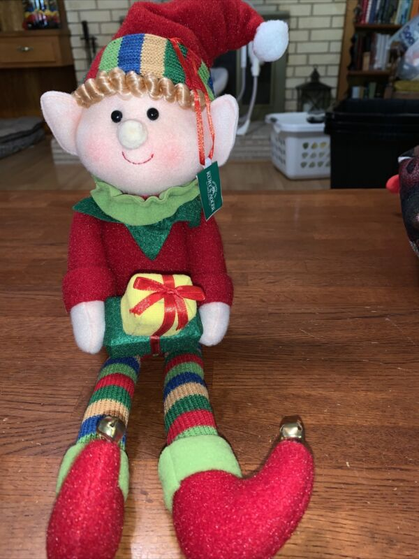 Kurt  Adler Weighted Christmas Elf