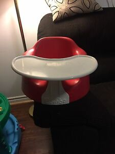 Bumbo with Tray & Straps