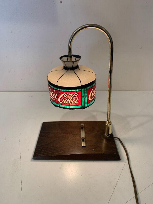 REAL VINTAGE PLASTIC COCA COLA DESK LAMP