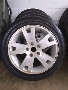 3x 235/45 R17 holden tyers nd  rims Whitfield Wangaratta Area Preview