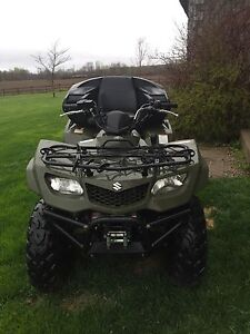 2012 Suzuki king quad