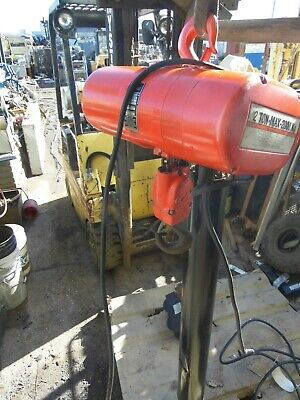 Cm 2 Ton Electric Chain Hoist 26 Lift Possibly 43.5 Of Lift 87 Chain Mod R