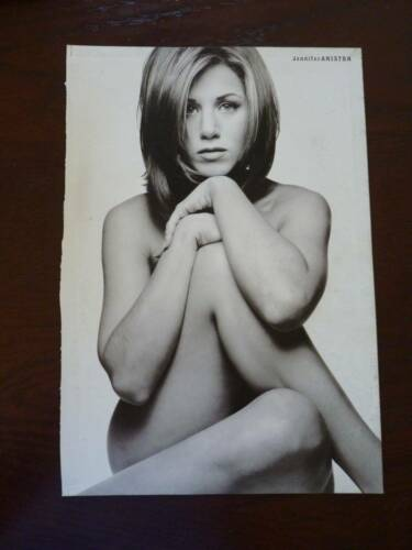 Jennifer Aniston Single Page Coffee Table Book Photo Page 9x13