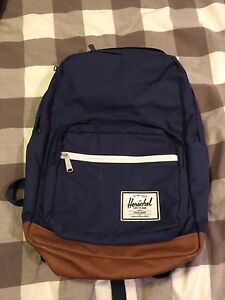 Herschel Pop Quiz Backpack - Navy/Tan