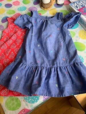 Lot Of 2 Girls Toddler 2t Dresses Nautica Jessica Simpson Euc