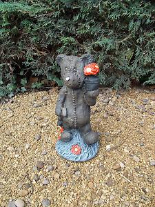 Teddy Bear concrete garden ornaments