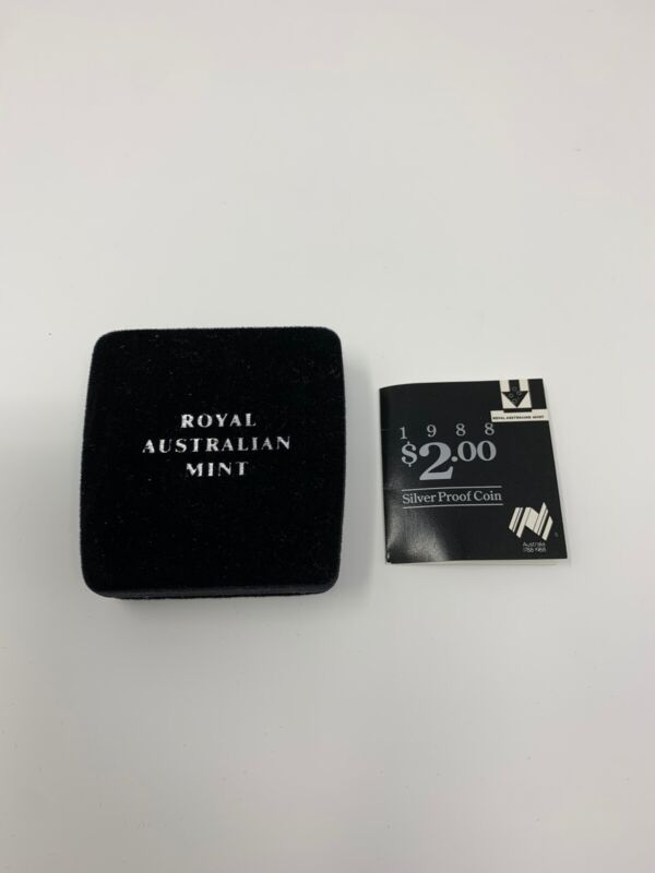 1988 Royal Australian Mint $2.00 Silver Proof Coin
